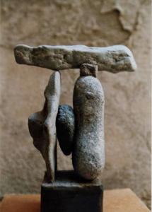 GÉNESIS, piedra, 1991.