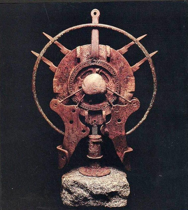CUSTODIA AMERICANA, hierro, acero y piedra, 1994.