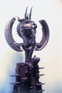 EL DESCANSO DEL GUERRERO (detalle), 1994.