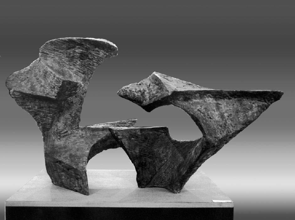 LA BESTIA, hormigón, 180m cm. de base, 1989.