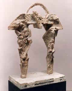 PORTAL I, 60 cm. de altura, 1990.