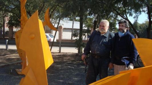 Bienal Internacional del Chaco con Oscar Stáffora, 2010.