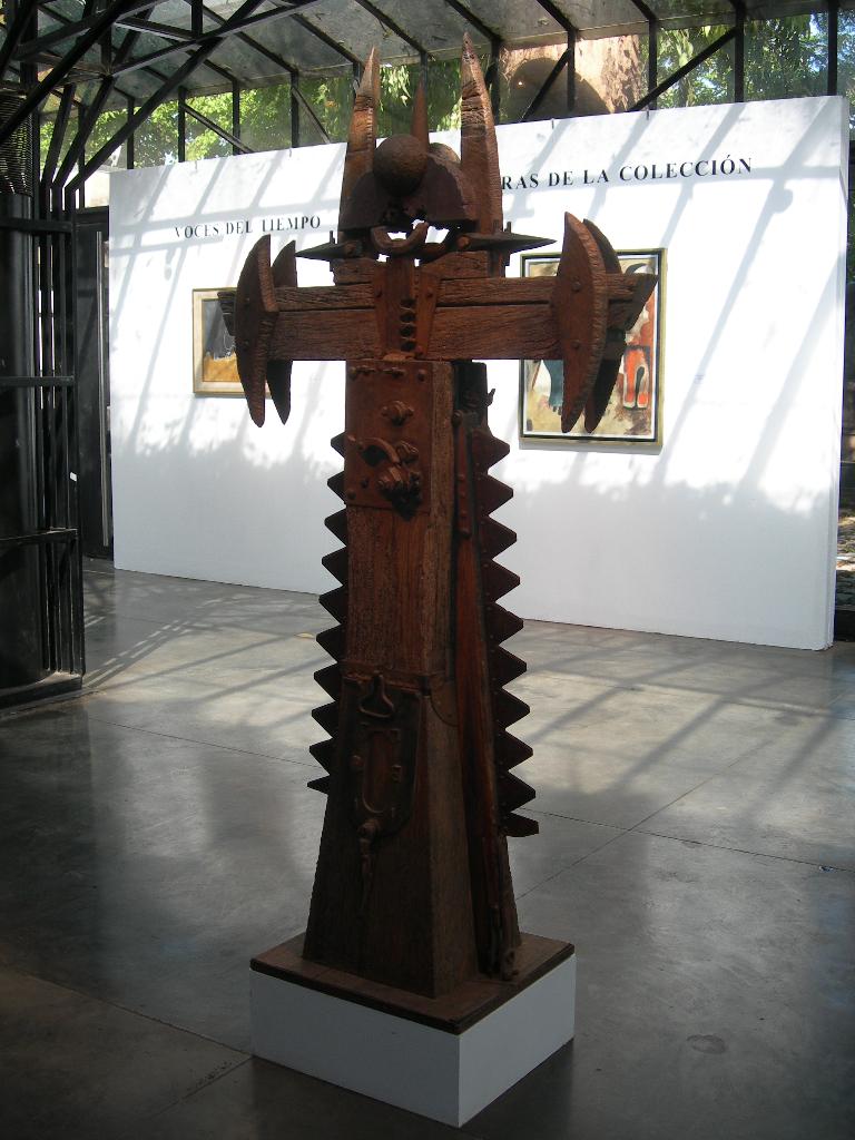 CRUZ DE LA CRUZ, en el Museo Sívori.