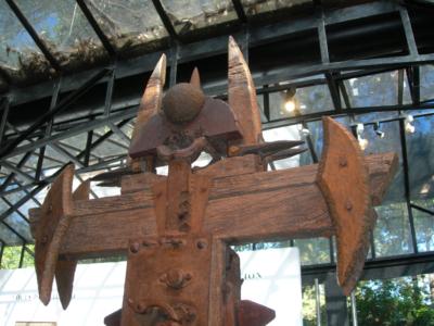CRUZ DE LA CRUZ, expuesta en el Museo Sívori.