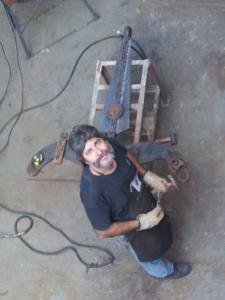 En el Taller de San Pedro, enero 2012. Foto por Zulma Elía.