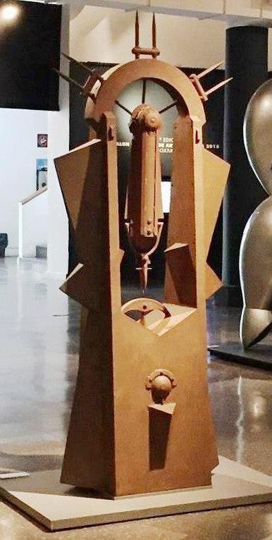 PORTAL 2015, hierro soldado, 230 x 120 x 84 cm., 3er. Premio Salón Nacional 2015.